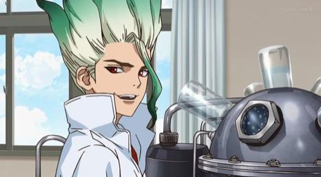 【ドクターストーン】千空の頭が金髪からネギに?!服の数式は?